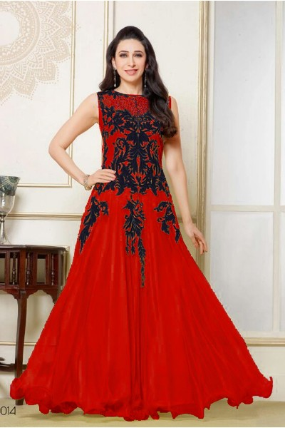 584bdd88ce Buy Karishma Kapoor Anarkali Salwar Suits for Women Clothing at thankar
